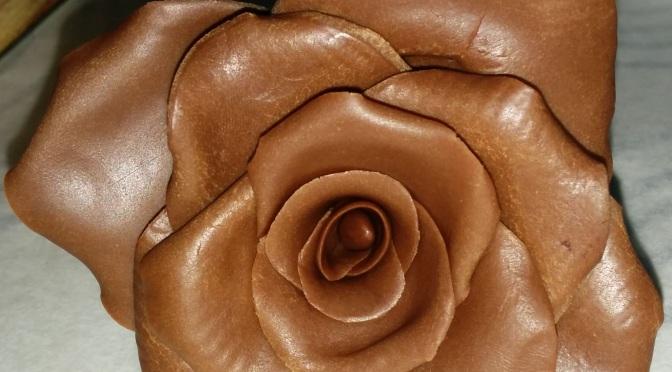Rosa de chocolate sin lactosa