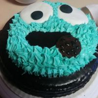 Frosting de colores para tartas