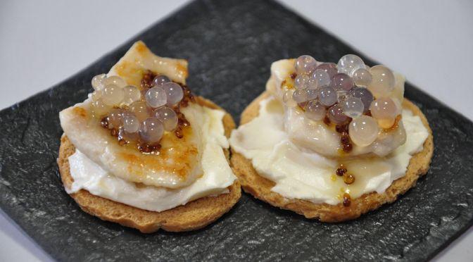 Tapa de pollo con miel y mostaza