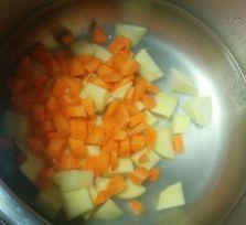 Patatas y zanahoria
