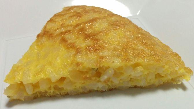 Porción de tortilla de arroz
