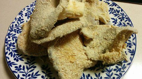 Setas empanadas
