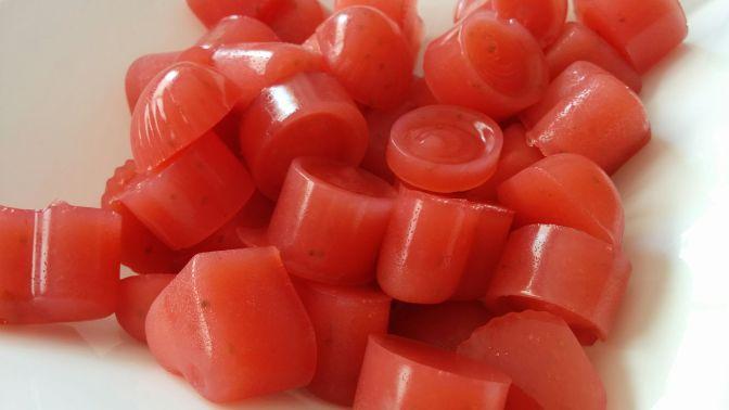 Caramelos de fruta (tipo gominola)