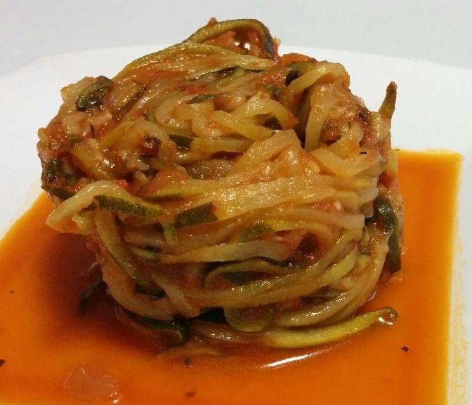 Espagueti de calabacín