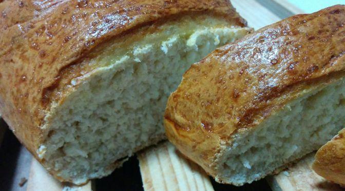 Corte de pan para torrijas