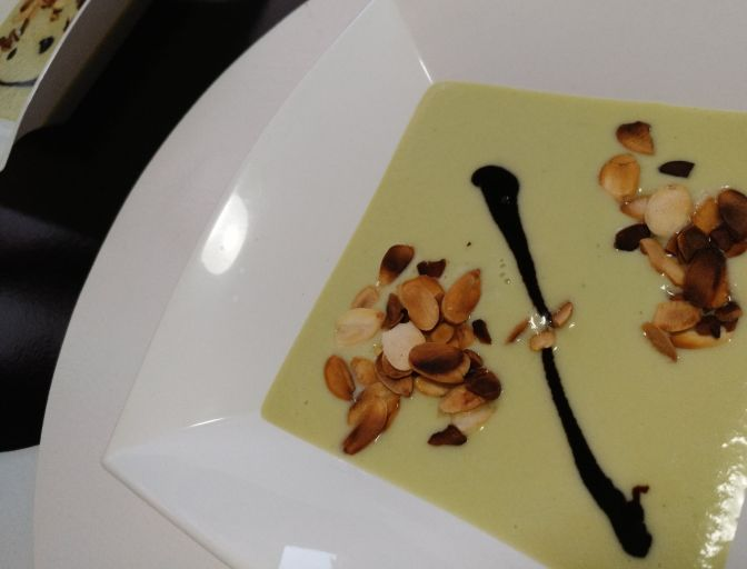 Gazpacho de pepino
