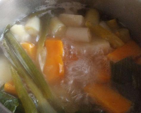 Cocción de verduras