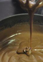 Crema pastelera de chocolate sin huevo