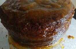 Cobertura de mermelada