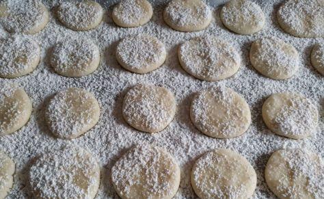Galletas sin gluten con azúcar glass