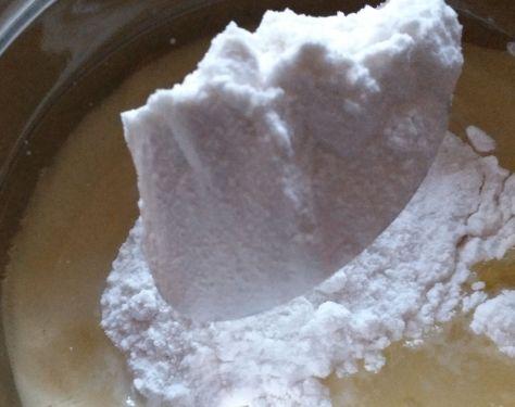 Nata, aceite y harina de arroz