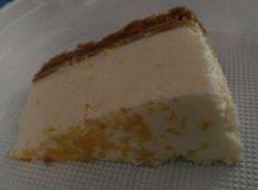 Porción de tarta de limón
