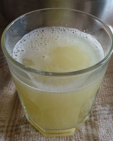 Zumo de lima y limón
